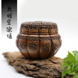 YONG HE XUAN Ruyi Censer Handmade Red Copper -Incense Burner- Contain Incense Holder Net Weight: 1150g (Approx.) Classical Style