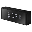 TOPROAD Portable HIFI Bluetooth Speaker Wireless Stereo Deep Bass Alarm Clock Speakers Support Handsfree MIC TF FM LED Display