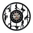 Pole Dancer Creative Design Vinyl Record Wall Clock  Wall Art  Party Decoration