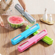 Practical plastic film cutter with stainless steel blade Foil And Cling Film Wrap Dispenser film Holder kitchen accessories