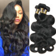 YAVIDA Hair Body Wave Virgin Hair 3 Bundles Brazlian Virgin Hair 7A Wet And Wavy Virgin Brazian hair Weave Bundles Human Hair