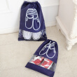 2 Pcs Breathable Nonwoven Fabric Scractch Resistant  Shoes Bag