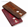 Genuine Leather Phone Case For Gionee M6 Plus Case Ostrich Foot Texture Back Cover For S10 Case