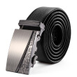 Cnoles Men's Business Automatic Buckle Belt(Belt Length Random Delivery)