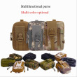 Tactical Camo Waist Bags, Waterproof Pouch, Sport Casual Waist Pack  Camping Hiking Outdoor Skiing Gear