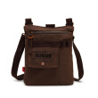 2016 New men shoulder messenger bag canvas bag pockets leisure sports bag men's small canvas bag