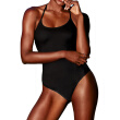 M&M 2018 Solid One Piece Swimsuit Women Swimwear Female Vintage Summer Bathing Suit Swimsuit Backless Strappy Monokini Bodysuit