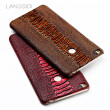 Genuine Leather Phone Case For Xiaomi Max 2 Case Ostrich Foot Texture Back Cover For Redmi 4 4X 5 5A Case