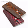 Genuine Leather Phone Case For Xiaomi 5S Plus Case Ostrich Foot Texture Back Cover For Redmi 4 4X 5 5A Case