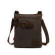 2016 new men's canvas messenger satchel bag high quality shoulder messenger bag small men bag