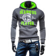 Zogaa New Fashion Men's Long Sleeve Hoodie Sweatshirt Cotton Blend Pure
