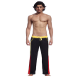 Mooncolour Men's Low Rise Mesh Long Sports Pants Front Tie Rope with Pockets Style