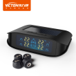(international version)VICTON Automotive wireless monitor Car TPMS  Tyre Pressure Monitoring System Solar&cigarette Power Auto Security Alarm color screen.