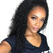 YVONNE 180% Density Malaysian Curly Virgin Human Hair Lace Front Wigs For Black Women Natural Color Free Shipping