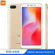 "На складе Глобальная версия Xiaomi Redmi 6 4GB 64GB MTK Helio P22 Octa Core 5.45 ""Full Screen 12MP + 5MP AI Dual Camera Smartphone CE"