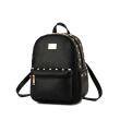 New fashion women leather backpack casual Korean female students bag embossing solid backpack schoolbag for teenagers