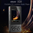 xDuoo X3II HiFi Music Player High Fidelity Lossless Audio Player Support DSD Bluetooth 4.0 TF Card Reading 2.4 Inches Screen
