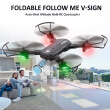 F196 720P Wifi FPV Optical Flow Gesture Shot Follow Me Fly 22mins Altitude Hold RC Selfie Drone Quadcopter