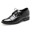 Business suits men pointed lace shoes increased men