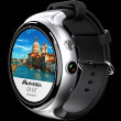 I4Air Smart Watch 2G+16G Thin Full Round Screen 3GWifi Heart Rate Payment GPS Camera