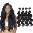 Ishow Hair 7A Good Quality Unprocessed Peruvian Body Wave 4 Bundles Virgin Hair Cheap Peruvian Virgin Hair Body Wave 4Pc/Lot Weave