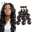 HHHair Peruvian Body Wave Hair 3 Bundles Unprocessed Virgin Human Hair Weave Extensions