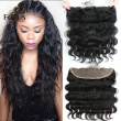 7A Brazilian Lace Frontal Closure 13x4 Body Wave Ear To Ear Lace Frontal With Baby Hair Cheap Virgin Human Hair Full Lace