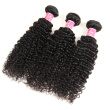 Mongolian Kinky Curly Virgin Hair Weave 3 Bundles Unprocessed Human Hair Extensions Natural Black Color #1B Can Be Dyed SZC Hair