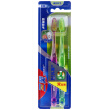 three smile silk soft care gum toothbrush (double support)