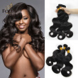 Lady Focus Brazilian Hair Virgin Hair Body Wave Human Hair 3Pcs Lot Natural Black Unprocessed 9A Top Quality Hair