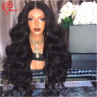 Hesperis Hot Sale 180 Density Best Long Body Wave Silk Top Full Lace Human Hair Wigs