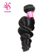 Peruvian Virgin Hair Loose Wave 1 Bundle Peruvian Loose Wave Curly Weave Human Hair Peruvian Curly Hair Loose Curly Virgin Hair