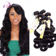 Mongolian Body Wave Hair Waves Extensions 4Bundles Smooth Natural Color 8-28inch Hair Density 120%