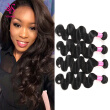 7A Brazilian Virgin Hair Body Wave 4 bundles 100% Unprocessed Brazilian Body Wave Virgin Human Hair Extension Weave Weft Natural C