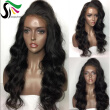 9A Pre Plucked Human Hair Wigs With Baby Hair 9A Peruvian Virgin Glueless Full Lace Wigs For Black Women