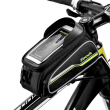 "Sireck MTB Bike Bag 6"" Touchscreen Bicycle Frame Saddle Bag Cycling Front Tube Bicycle Bag Phone Case Bike Accessories"