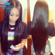 Brazilian Virgin Hair Straight 4 Bundles Brazilian Human Hair Extensions 100% Unprocessed Human Hair Weave Natural Color