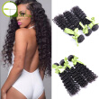Brazilian Deep Wave Virgin Hair 4Bundles Deep Wave Brazilian Hair Deep Curly Brazilian Hair Bundle Deals Curly Weave Human Hair