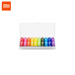 10 pcs Xiaomi ZI7 Alkaline Battery 1.5V Rainbow AAA Primary Batteries LR03 AM-4 Pilha Seca for MP3 Flashlight Radio Walkman