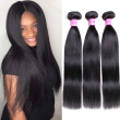 Bling Hair Malaysian Virgin Hair Straight Hair 3 Bundles 7A Grade 100% Unprocessed Human Hair Weave