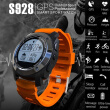 S928 Bluetooth GPS Real-time Heart Rate Track Smart Wristband Air Pressure Environment Temperature Height Watch