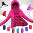 Plus Size S-3XL Ultra Light Winter Jacket 2017 Fashion Women Duck Down Coat Solid Color Hooded Zippers