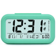 Large Digital Alarm Clock LCD Student Bedroom Electronic Clock Snooze Sensor Kids Table Clock School Product Night Light 2 Alarm