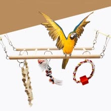 -〖Follure〗Bird Pet Hanging Toys Parrot Cage Hammock Swing Toy on JD