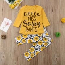 -US Stock Newborn Baby Girl Clothes TShirt Top+Floral Pants/Skirt Leggings Outfit on JD