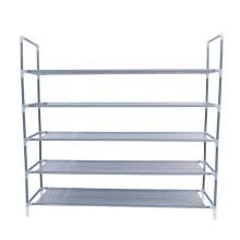 -Simple Multi Layer Shoe Rack Non-woven Fabric 5 Layers Shoes Hallway Cabinet Organizer Home Furniture Shelf on JD