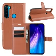 -For Xiaomi Redmi Note 8T Wallet Phone Case for Xiaomi Redmi Note 8 Pro 128GB 64GB Flip Leather Cover Case Capa Etui Coque Fundas on JD