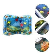 -Inflatable Water Mat Infant Toddler Tummy Time Play Pad Growth Stimulation Toy on JD
