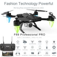 -Younglife F69Pro 2.4G 5MP 1080P Wide Angle WIFI FPV HD Camera Foldable RC Drone Quadrocopt on JD