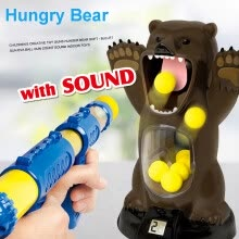 -Tailored Scream Hungry Bear Electronic Shooting Game Party Toys With Sound For Kids on JD